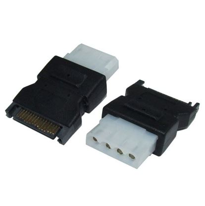 Picture of DYNAMIX Power Adapter SATA 15P Male to Standard IDE 4P Female