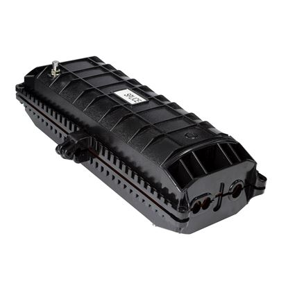 Picture of DYNAMIX Fibre Inline Enclosure. Holds up to 144x fibres. IP68.