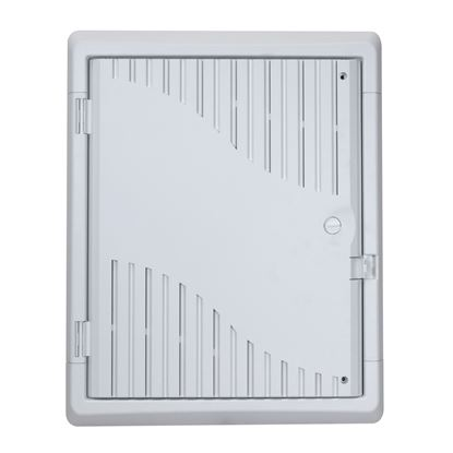 Picture of DYNAMIX 18' Recessed Plastic Network Enclosure, WiFi Ready,