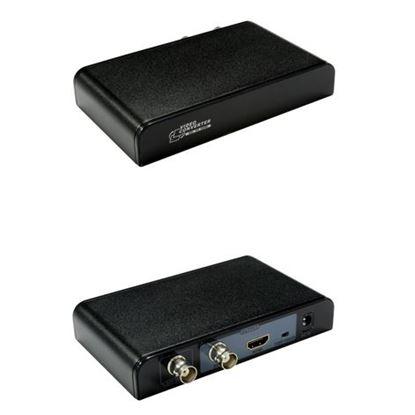 Picture of LENKENG SDI to HDMI converter. Converts SD-SDI, HD-SDI and 3G-SDI