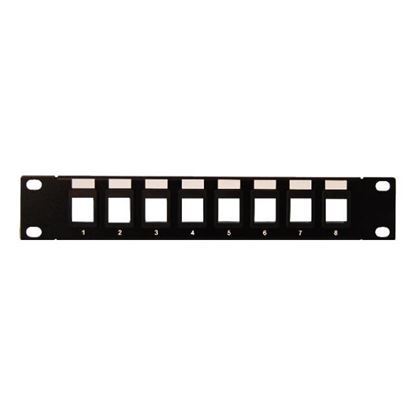 Picture of DYNAMIX 10' 8 Port Unloaded Keystone Jack Patch Panel for 10'