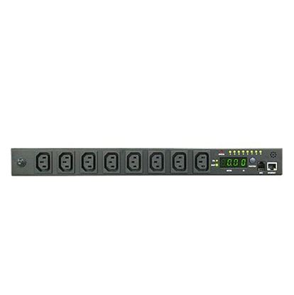 Picture of DYNAMIX 8 Port 16A kWh Switched PDU . Total Remote Power Monitoring &