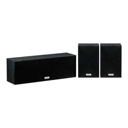 Picture of ONKYO Centre & Surround Speaker Package. 2-Way bass reflex centre