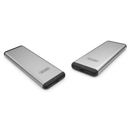 Picture of UNITEK USB 3.0, M.2 SSD (SATA) External Enclosure.