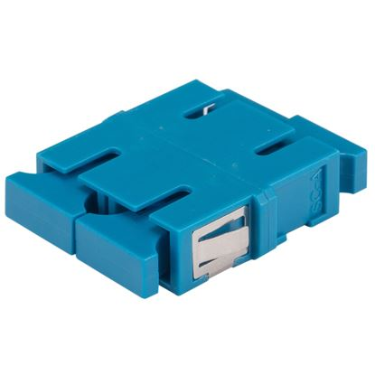 Picture of DYNAMIX Adapter SC Duplex SM Blue Flangeless