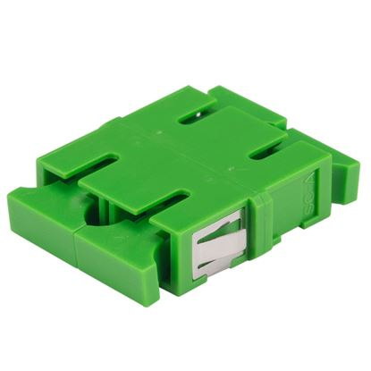 Picture of DYNAMIX Adapter SCA Duplex SM Green Flangeless