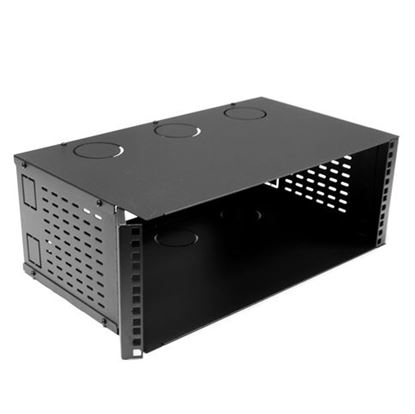 Picture of DYNAMIX 4U 300mm Deep 19' Fully Enclosed Hinged Wall Mount Bracket.