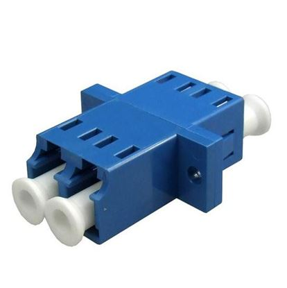 Picture of DYNAMIX Fibre LC/LC Duplex Single- mode Joiner, Ceramic sleeve,
