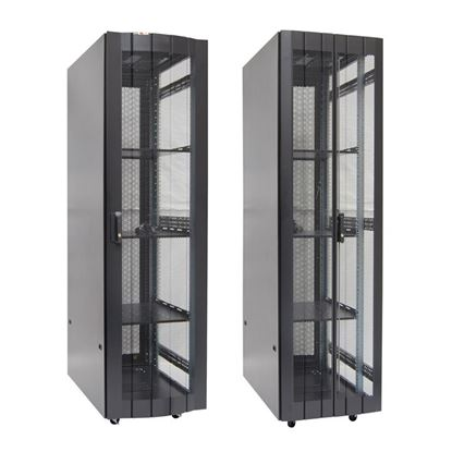 Picture of DYNAMIX 42RU Server Cabinet 1000mm Deep (600 x 1000 x 2081mm) Includes