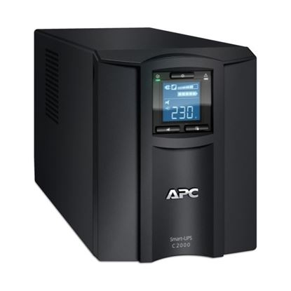 Picture of APC Smart-UPS 2000VA (1300W) Tower. 230V Input/Output. 6x IEC C13