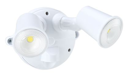 Picture of HOUSEWATCH 10W Twin LED Spotlight IP54, 2000 Lumens,Stainless Steel