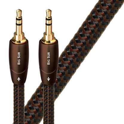 Picture of AUDIOQUEST Big Sur 1M 3.5mm M- 3.5mm M. Solid perf surface Copper