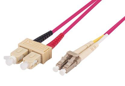 Picture of DYNAMIX 15M 50u SC/SC OM4 Fibre Lead (Duplex, Multimode)