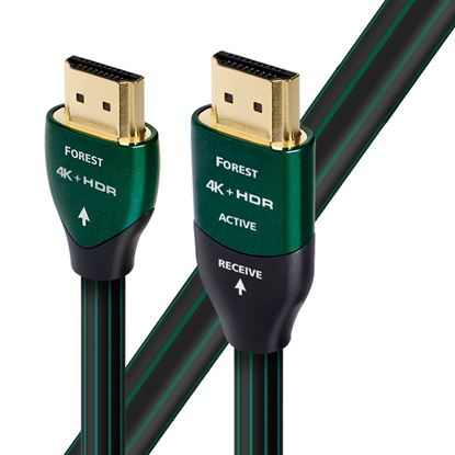 Picture of AUDIOQUEST Forest 8M HDMI cable 0.5% silver. Solid conductors.