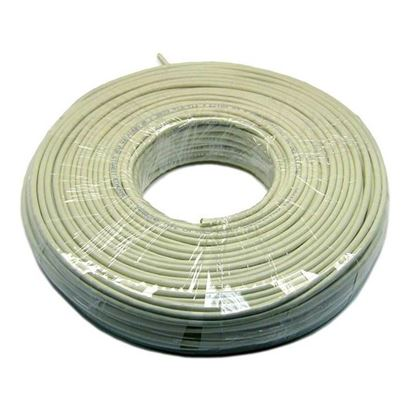 Picture of DYNAMIX 50m Cat5e Ivory UTP SOLID Cable Roll 100MHz, 24AWGx4P, PVC
