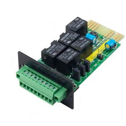 Picture of POWERSHIELD Internal Relay Card. The Relay Card provides VFC  (Volt