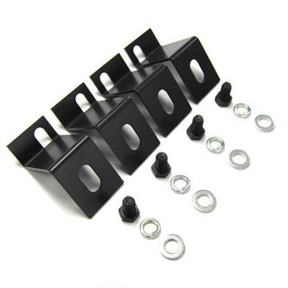 Picture of DYNAMIX Bolt Down Kit for 2.5' Castor Wheel. 4 pcs per pack.