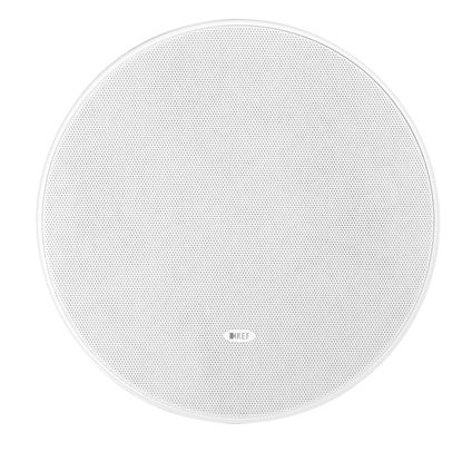 Picture of KEF Ultra Thin Bezel 8' Round In-Ceiling Subwoofer. Ultra thin