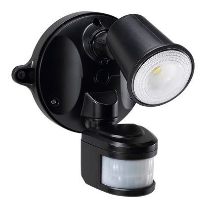 Picture of HOUSEWATCH 10W Single LED Spotlight with Motion Sensor. IP54. Passive