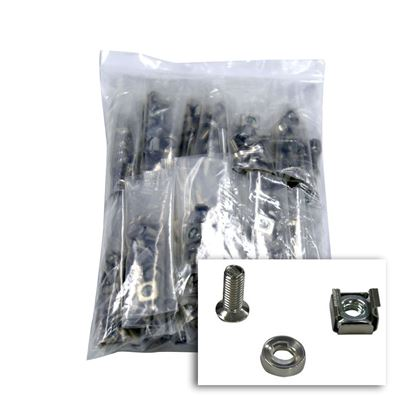 Picture of DYNAMIX 100pc Pack, 3 Piece Cage Nut, (4x Cage Nuts per Bag) M6,