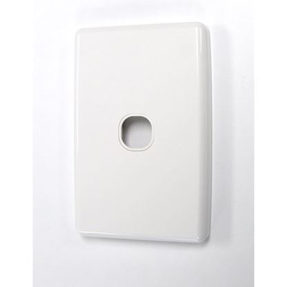 Picture of AMDEX Switch Plate ONLY. Single. WPC Series Wall Face Full Cover