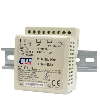 Picture of CTC UNION 48W Industrial Power Supply.