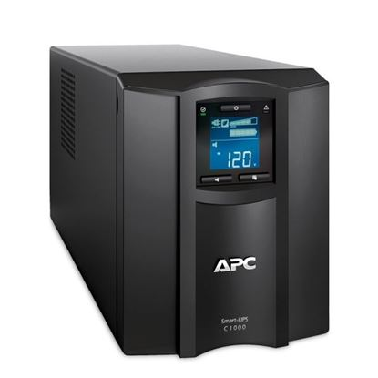 Picture of APC Smart-UPS SMC Series Line Interactive. 1000VA (600W) Tower.
