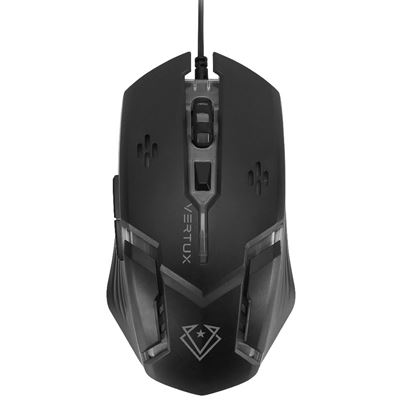 Picture of VERTUX Gaming Ergonomic Optical Wired Mouse with Smart LED Lights
