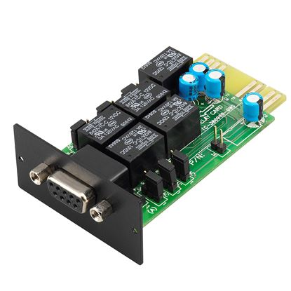 Picture of APC Easy UPS Dry Contact Card/Relay I/O Card for remotely management.