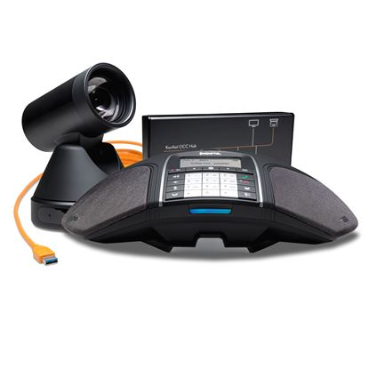 Picture of KONFTEL C50300Mx Hybrid Conference Phone Bundle. Design for up to 20