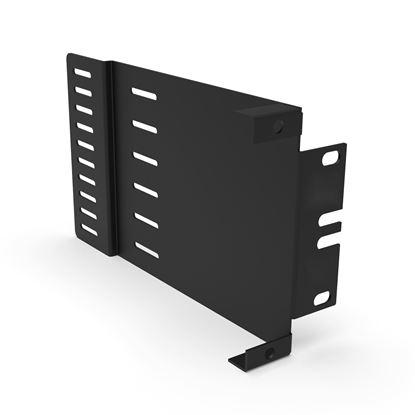 Picture of DYNAMIX Zero RU Bracket for FPP-x Fibre Plates & Modules, Unloaded.