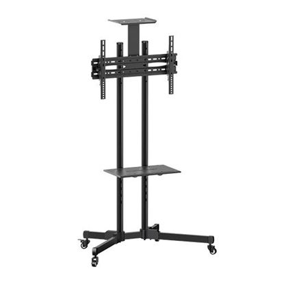 Picture of BRATECK  32'-70' Economy TV Stand, Adjustable TV Height with Metal