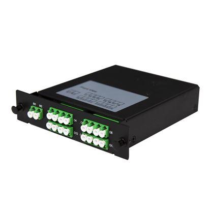 Picture of DYNAMIX PLC Fibre Optic 2:16 LC/APC Splitter Front Input Cassette