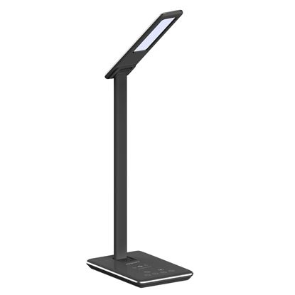 Picture of PROMATE 10W Qi Wireless Phone Charging with Super Bright Desk