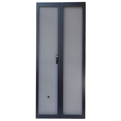 Picture of DYNAMIX 45RU Dual Mesh Pantry Style Door Kit for SR Series 600mm WideDo