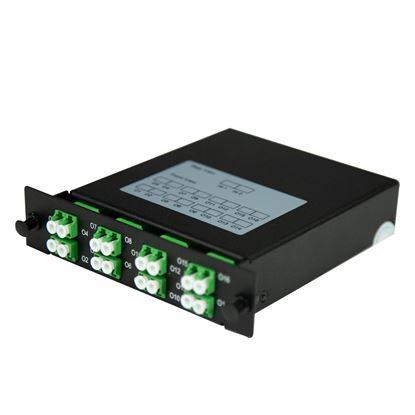 Picture of DYNAMIX PLC Fibre Optic 2:16 LC/APC Splitter NON-Cassette Rear Input