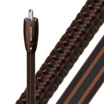 Picture of AUDIOQUEST Mackenzie 1.5M  1 to 1 RCA male. Solid perf surface copper