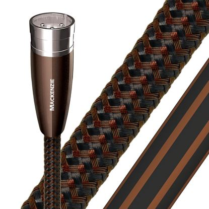 Picture of AUDIOQUEST Mackenzie 3M XLR to XLR Pair. Solid perf surface copper