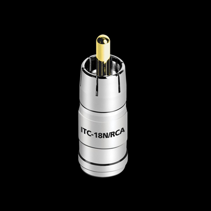 Picture of AUDIOQUEST ITC Connectors - 18 AWG - RCA - Nickel (50 Pack) 68-010-04
