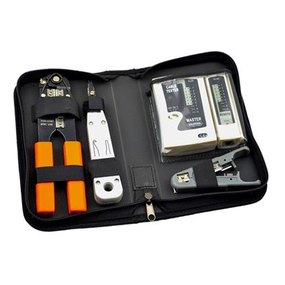 Picture of GOLDTOOL 4 Piece Network Tool Kit. Includes Low Impact Insertion Tool,