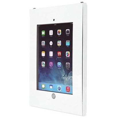 Picture of BRATECK iPad Anti-Theft Steel Wall Mount Tablet Enclosure.