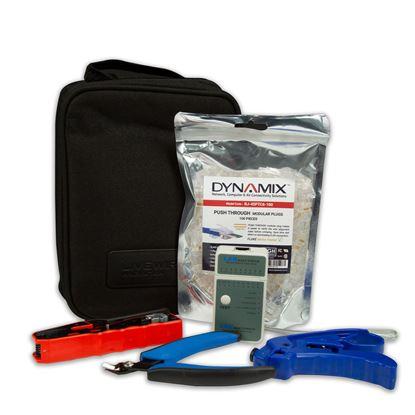 Picture of DYNAMIX Cat6 UTP Plug Termination Kit, Includes: 100x Cat6 UTP Push
