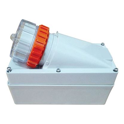 Picture of TRADESAVE Appliance Inlet 3 Pin 10A Flat, IP66, Stainless