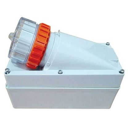 Picture of TRADESAVE Appliance Inlet 4 Pin 32A Round, IP66, Stainless