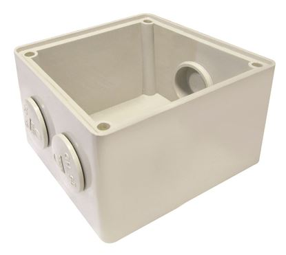 Picture of TRADESAVE Mounting Base 1 Gang IP66, Stainless Steel Cover