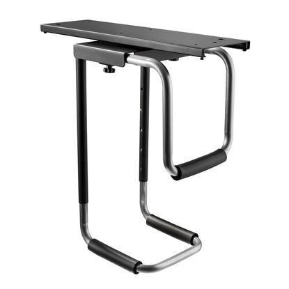 Picture of BRATECK Heavy-Duty Under Desk PC Holder. 360 Rotation. Easy