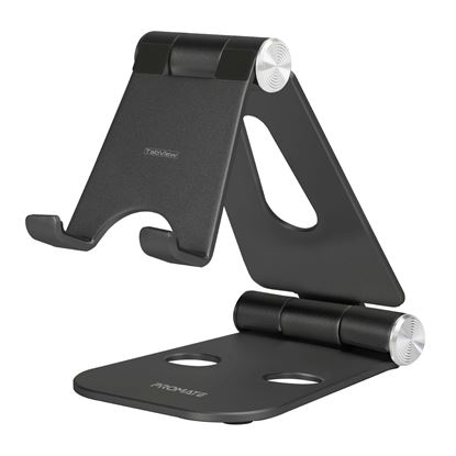 Picture of PROMATE Multi-Angle Aluminium Stand for Tablets and Smarphones. Adjusts